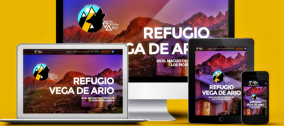 Refugio Vega de Ario - diseño web en Wordpress